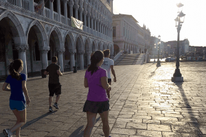 Rialto group running tour