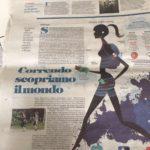 La Repubblica newspaper wrote on Venice by Run